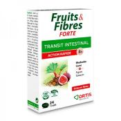 Fruits et fibres forte action rapide, 24 cps