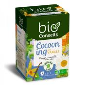 Infusion bio Cocooning note vanille, 20 sachets