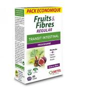 Fruits et fibres Regular, 45 comprimés