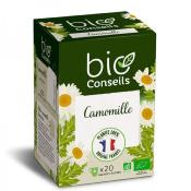 Infusion bio Camomille, 20 sachets